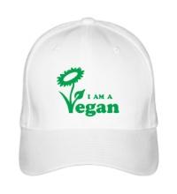 Бейсболка I am a vegan