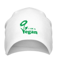 Шапка I am a vegan