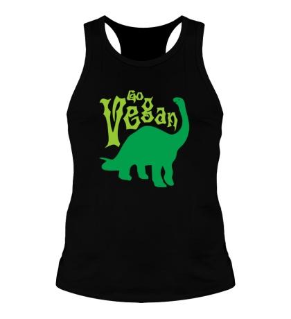 Мужская борцовка «Go vegan»