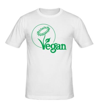 Мужская футболка «Vegan»