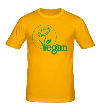 Мужская футболка Vegan