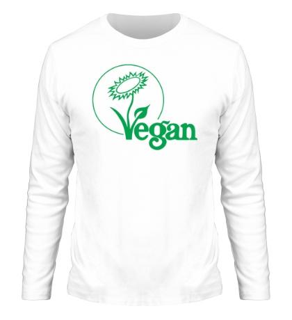 Мужской лонгслив «Vegan»
