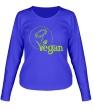 Женский лонгслив «Vegan» - Фото 1