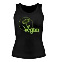 Женская майка Vegan