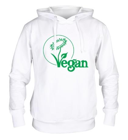Толстовка с капюшоном «Vegan»