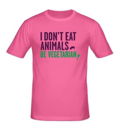 Мужская футболка Be Vegetarian