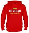 Толстовка с капюшоном «Go Vegan Save Animals» - Фото 1