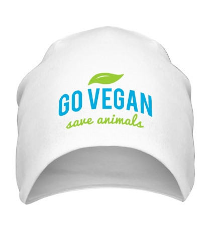Шапка «Go Vegan Save Animals»