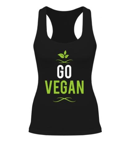 Женская борцовка «Go Vegan»