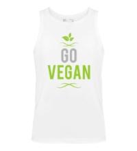Мужская майка Go Vegan