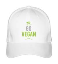 Бейсболка Go Vegan