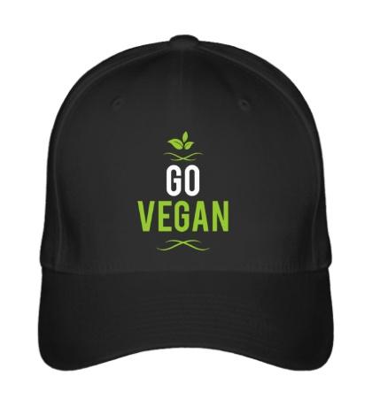Бейсболка «Go Vegan»