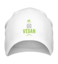 Шапка Go Vegan