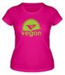 Женская футболка «World VEGAN day» - Фото 1