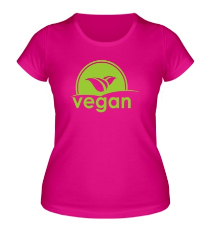 Женская футболка «World VEGAN day»