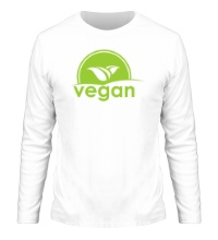 Мужской лонгслив World VEGAN day