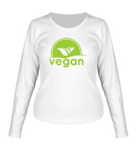 Женский лонгслив World VEGAN day