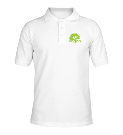 Рубашка поло «World VEGAN day»