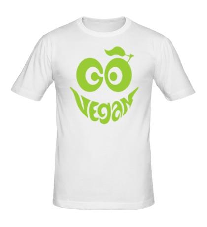 Мужская футболка «Vegan smile»