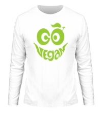 Мужской лонгслив Vegan smile
