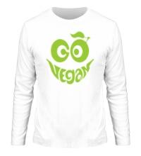 Мужской лонгслив Vegan smile