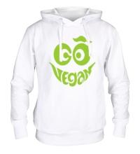Толстовка с капюшоном Vegan smile