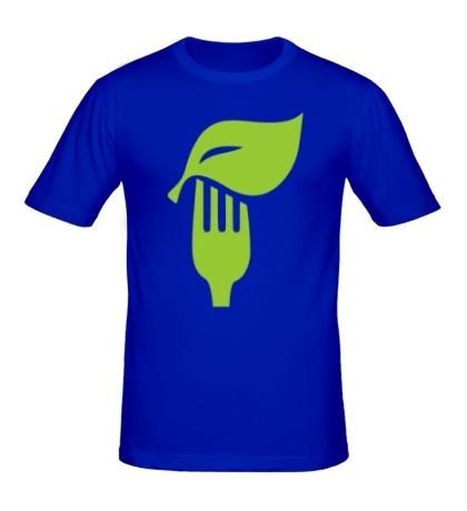 Мужская футболка «Eat vegetables»
