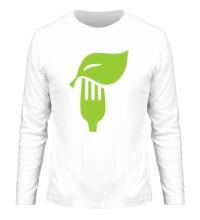 Мужской лонгслив Eat vegetables
