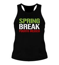 Мужская борцовка Spring break Puerto Mexico