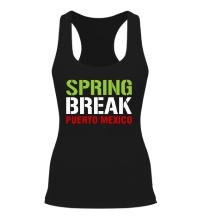 Женская борцовка Spring break Puerto Mexico
