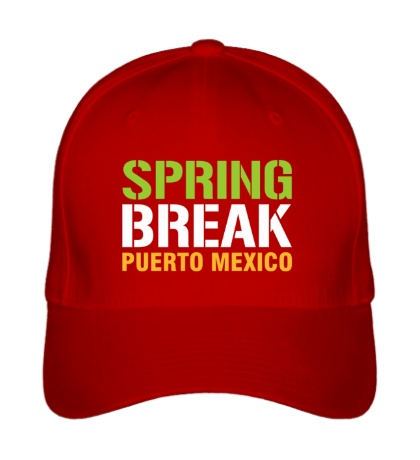 Бейсболка Spring break Puerto Mexico