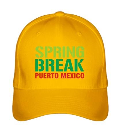 Бейсболка «Spring break Puerto Mexico»