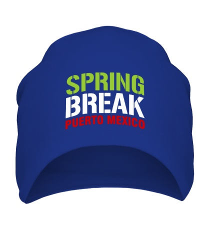 Шапка Spring break Puerto Mexico