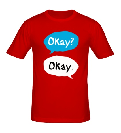 Мужская футболка Okay? Okay!