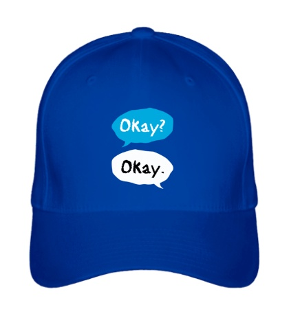 Бейсболка «Okay? Okay!»