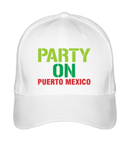Бейсболка Party on Puerto Mexico