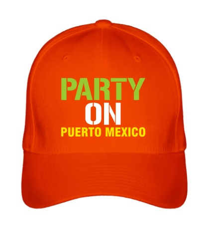 Бейсболка «Party on Puerto Mexico»