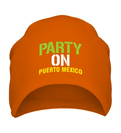 Шапка Party on Puerto Mexico