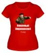 Женская футболка «Вежливый Жириновский» - Фото 1