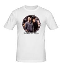 Мужская футболка Supernatural Brothers
