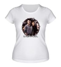 Женская футболка Supernatural Brothers