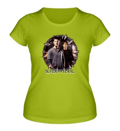 Женская футболка «Supernatural Brothers»
