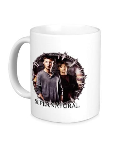 Керамическая кружка «Supernatural Brothers»