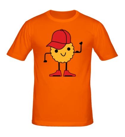 Мужская футболка Печенье в кепочке