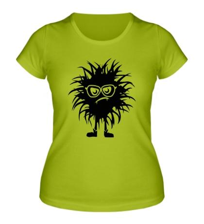 Женская футболка Лохматый чудик