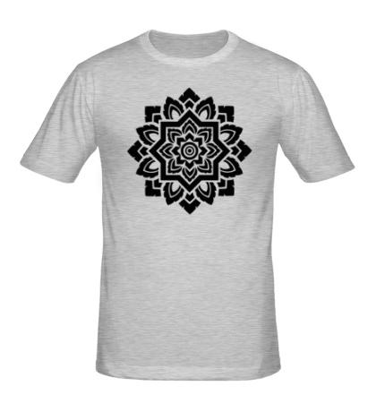 Мужская футболка «Цветок: орнамент»