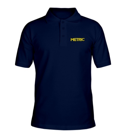 Рубашка поло Metric