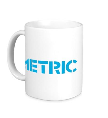 Керамическая кружка «Metric»