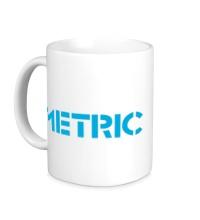 Керамическая кружка Metric