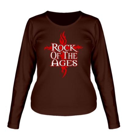 Женский лонгслив Rock of the Ages
